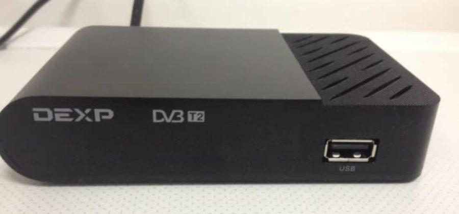 Подключение и настройка цифровой приставки Dexp